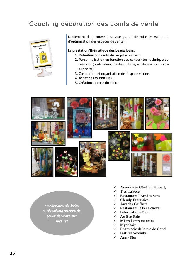 Lancement d'un nouveau service gratuit de mise en valeur et d'optimisation des espaces de vente : La prestation Thématique...