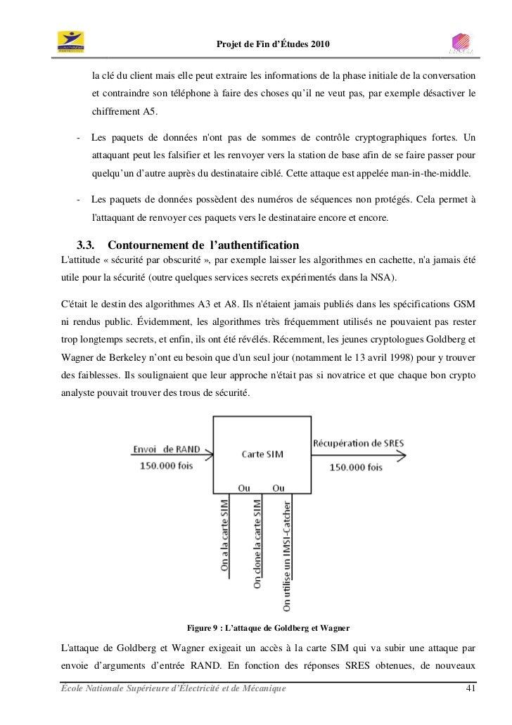 Projet de Fin d'Études 2010          la clé du client mais elle peut extraire les informations de la phase initiale de la ...