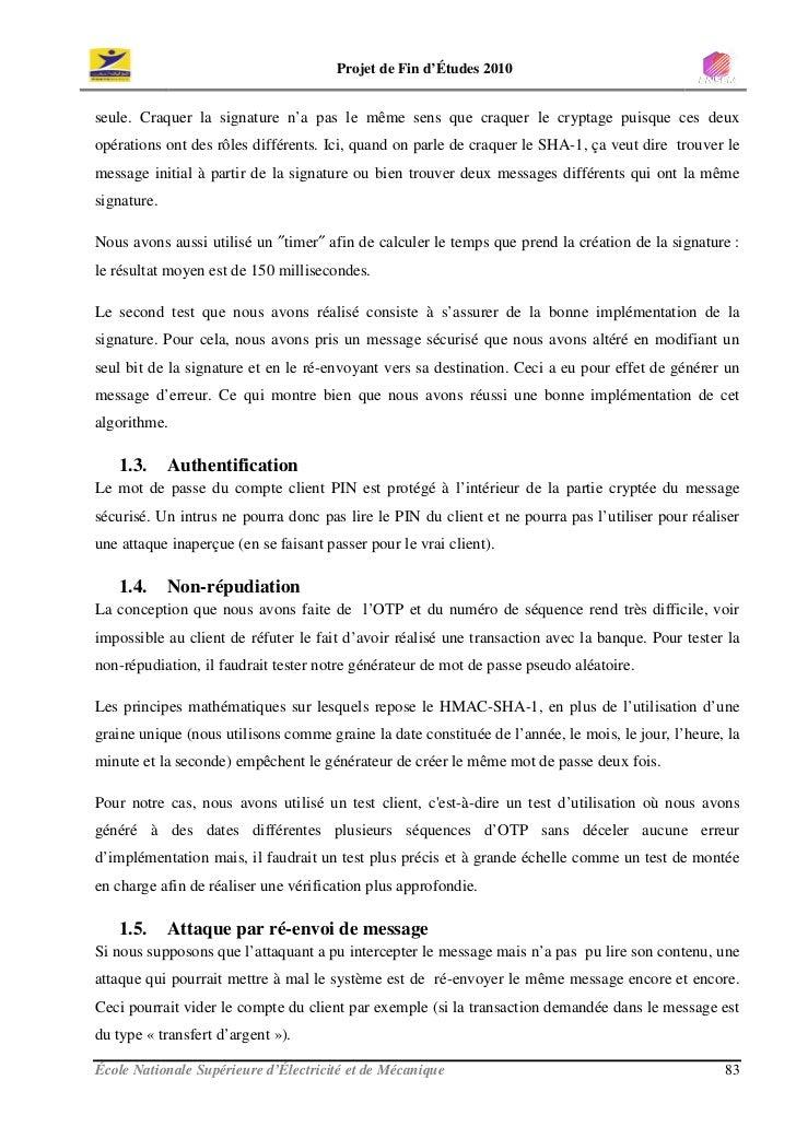 Rapport De PFE