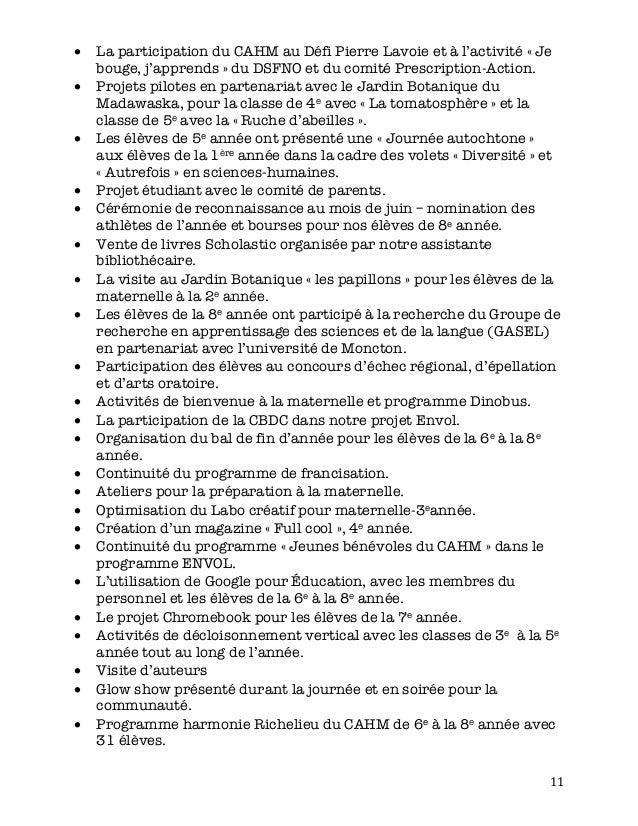 11 • La participation du CAHM au Défi Pierre Lavoie et à l'activité « Je bouge, j'apprends » du DSFNO et du comité Prescr...