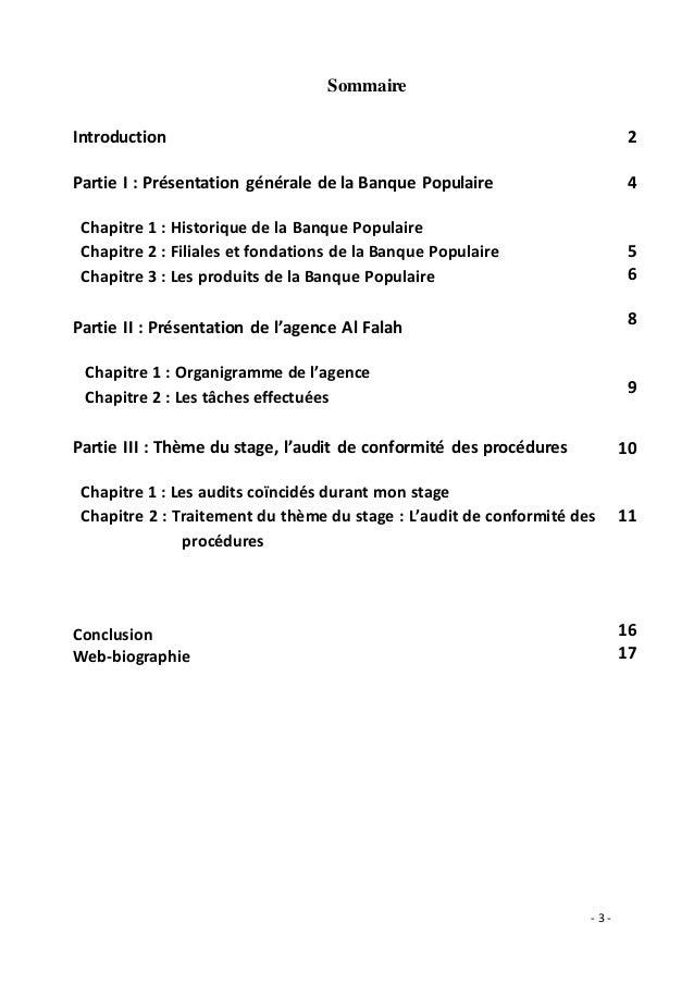 rapport de stage banque populaire   audit de conformit u00e9 des proc u00e9dures