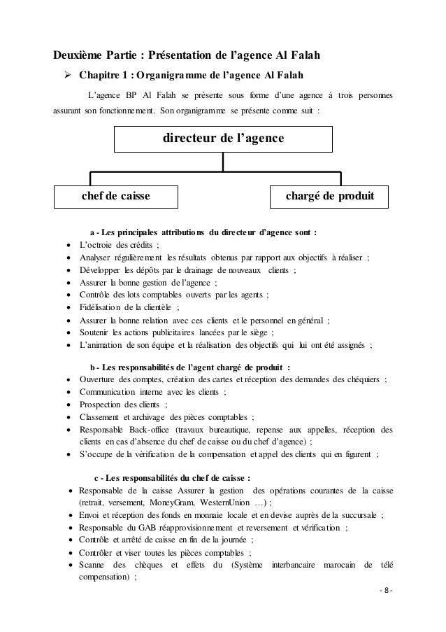 Rapport De Stage Banque Populaire Audit De Conformité Des Procédures