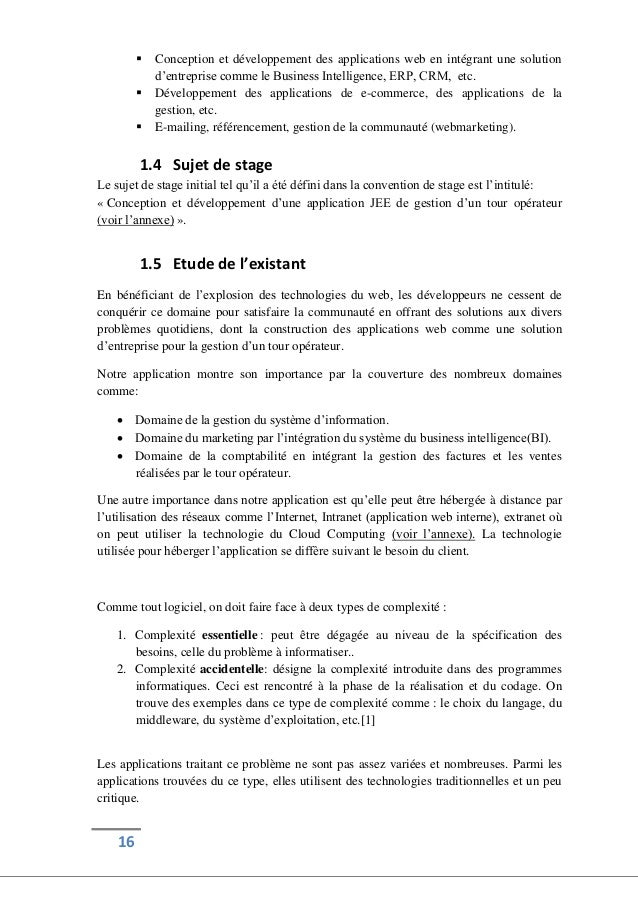 exemple dintroduction rapport de stage exemple d