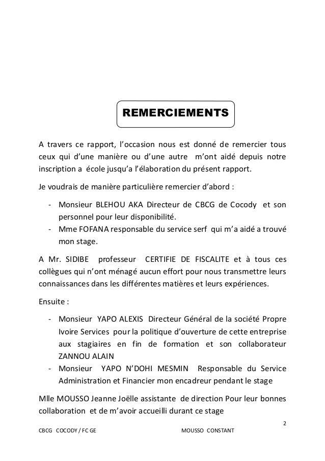 Rapport de stage bts finances comptabilite et gestion d - Rapport de stage cabinet d avocat exemple ...