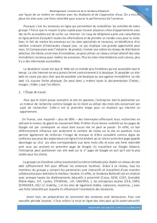 Rapport De Stage Iae