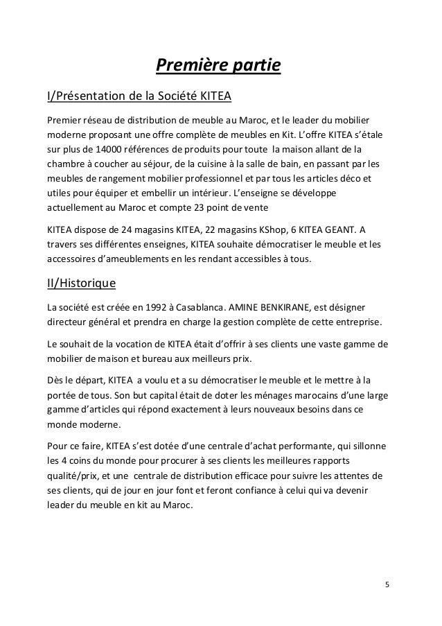 Rapport de stage khadija douiri 2014 - Rapport de stage en cuisine ...