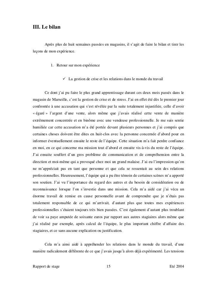 Rapport De Stage Louis Vuitton