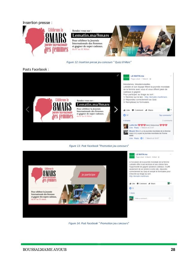rapport de stage marketing pdf