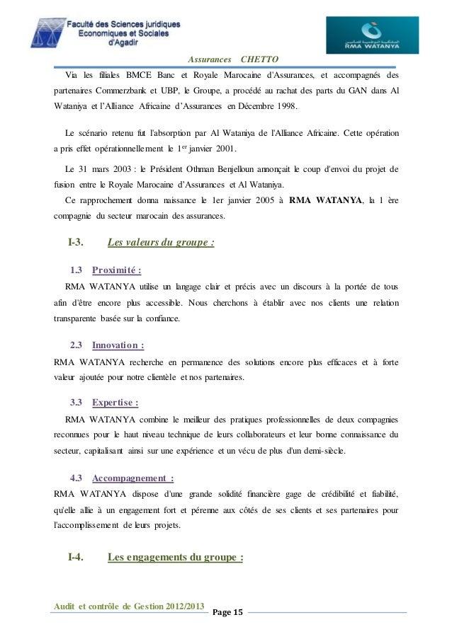 Rapport De Stage Rma