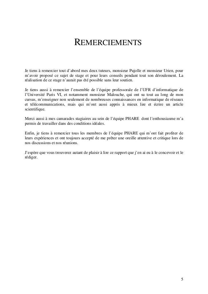 Rapport De Stage Sécurité Wimax Mobile