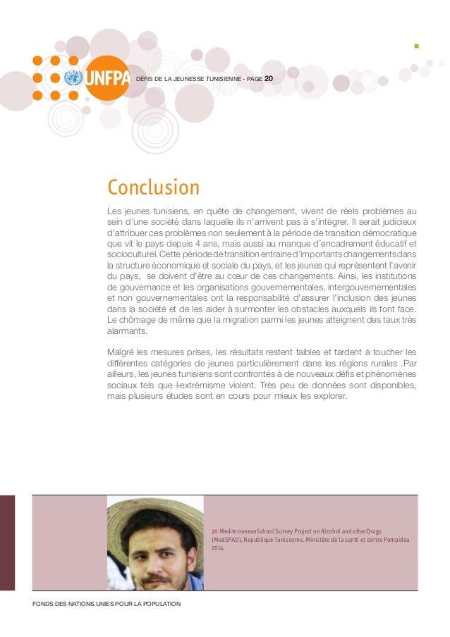 20 MediterraneanSchool Survey Project on Alcohol and otherDrugs (MedSPAD), Republique Tunisienne, Ministère de la santé et...