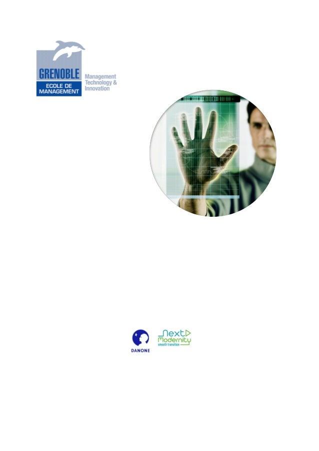 L'Entreprise 2.0 En France En 2012: Mythe Et Réalité Etude réalisée par l'Institut de l'Entreprise 2.0 de Grenoble Ecole d...