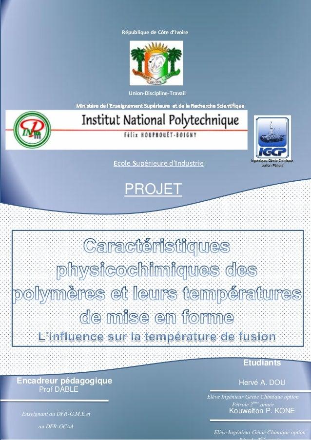République de Côte d'Ivoire                                  1                                         Remerciements      ...