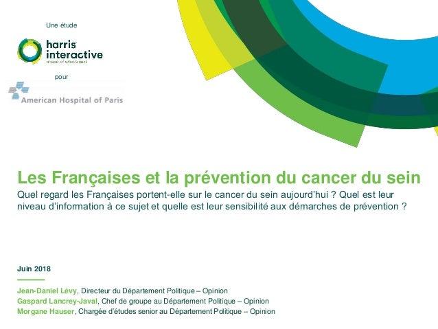 Jean-Daniel Lévy, Directeur du Département Politique – Opinion Gaspard Lancrey-Javal, Chef de groupe au Département Politi...