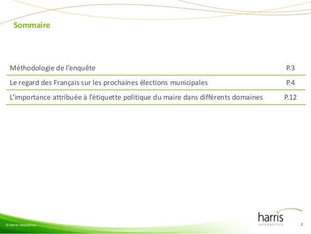 Les Français, les élections municipales et l'étiquette politique du maire (LCP) Slide 2