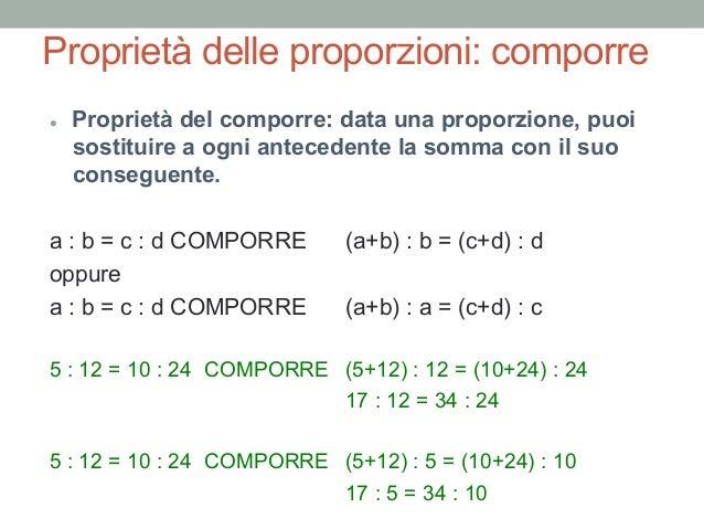 Proporzione calcolo online dating