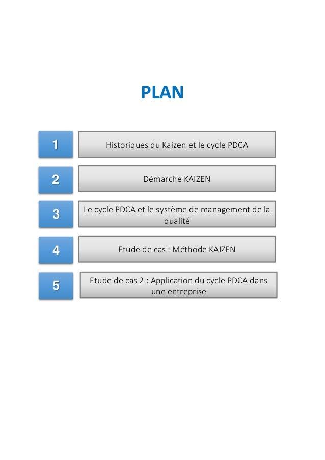 Amélioration continue KAIZEN et PDCA Slide 2
