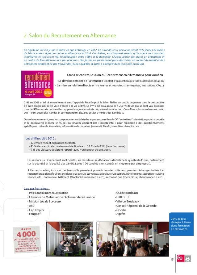 Rapport moral 2012 emploi bordeaux for Salon emploi bordeaux