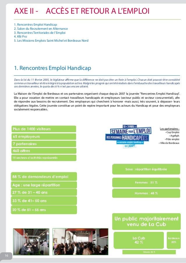 Rapport moral 2013 d 39 emploi bordeaux - Salon de l alternance bordeaux ...