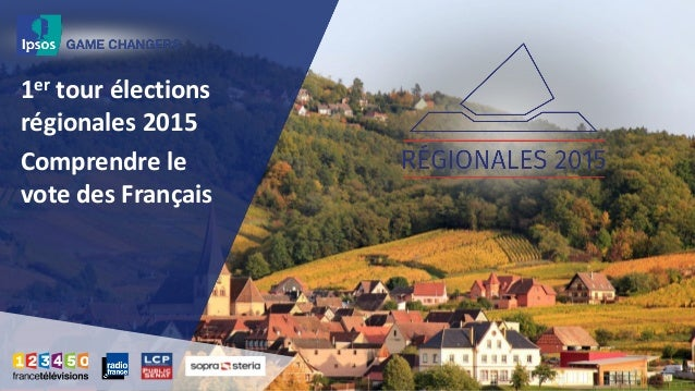 1er tour élections régionales 2015 Comprendre le vote des Français