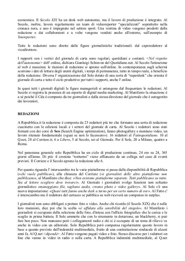 dd67ab6191 Giornalismo digitale in Italia: nelle redazioni domina ancora la