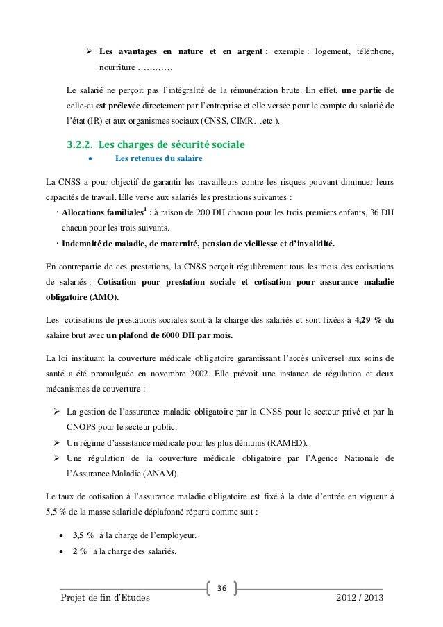 Gestion de la paie maroc avec openerp 7 - 12 5 du plafond horaire de la securite sociale ...