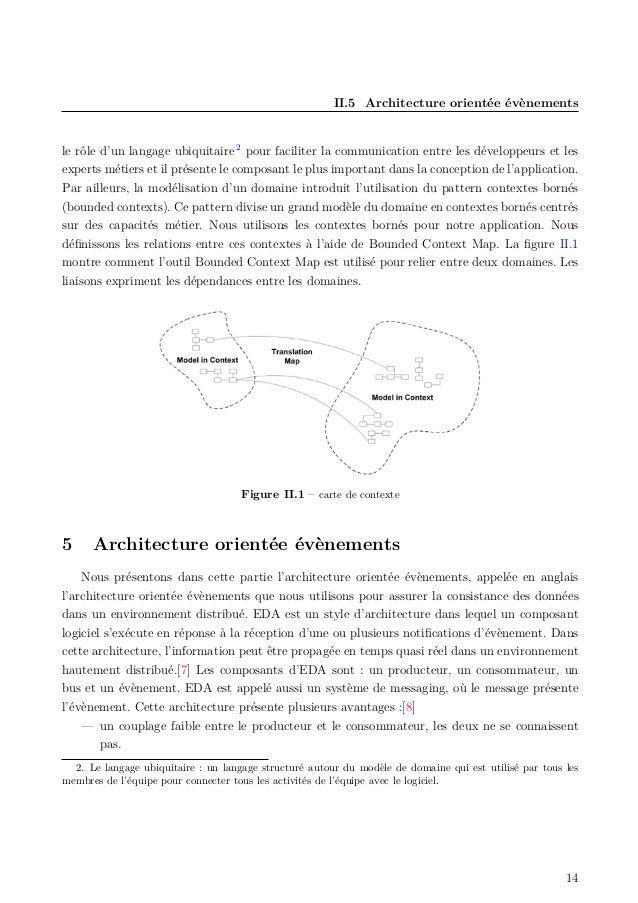 II.5 Architecture orientée évènements le rôle d'un langage ubiquitaire 2 pour faciliter la communication entre les dévelop...