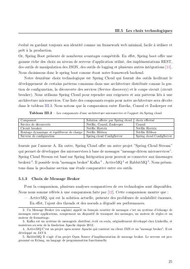 III.5 Les choix technologiques évolué en gardant toujours son identité comme un framework web minimal, facile à utiliser e...