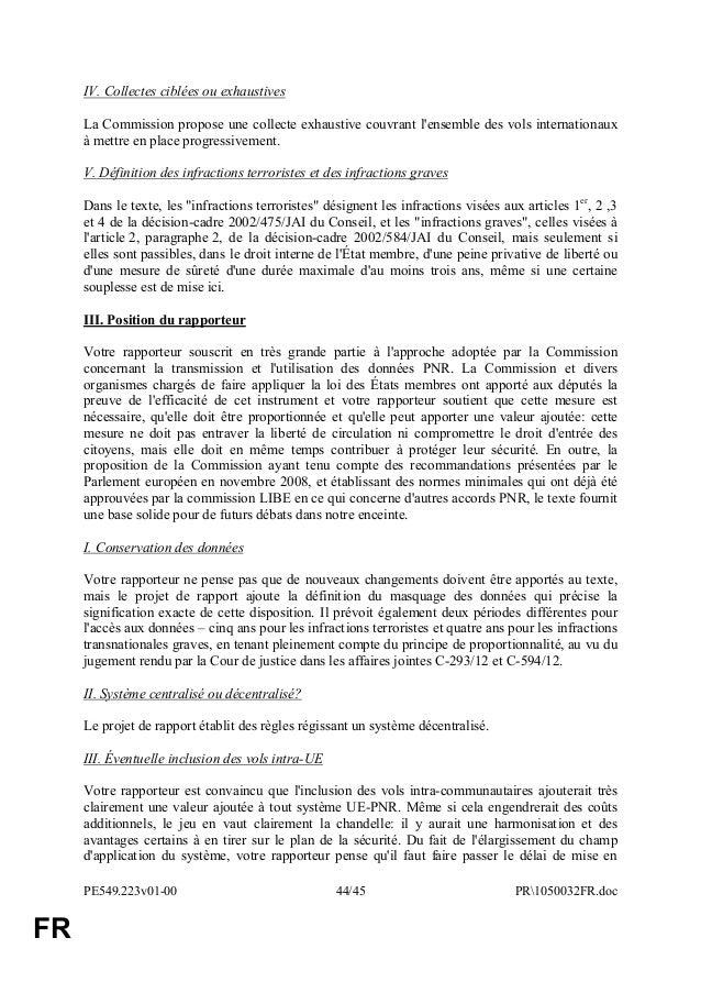 Rapport pnr - Systeme centralise definition ...