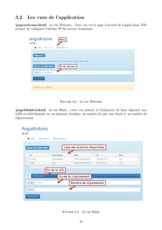 Rapport projet application web de domotique arduino