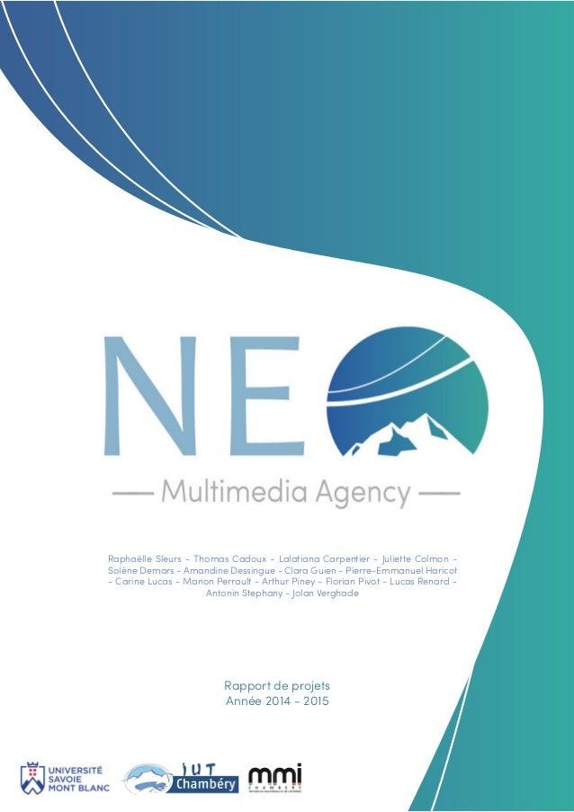 Rapport Projet Agence De Communication Neo