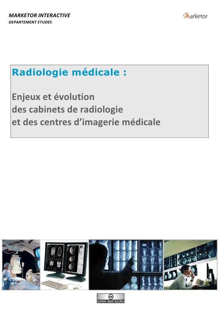 Rapport Radiologie Medicale 2007