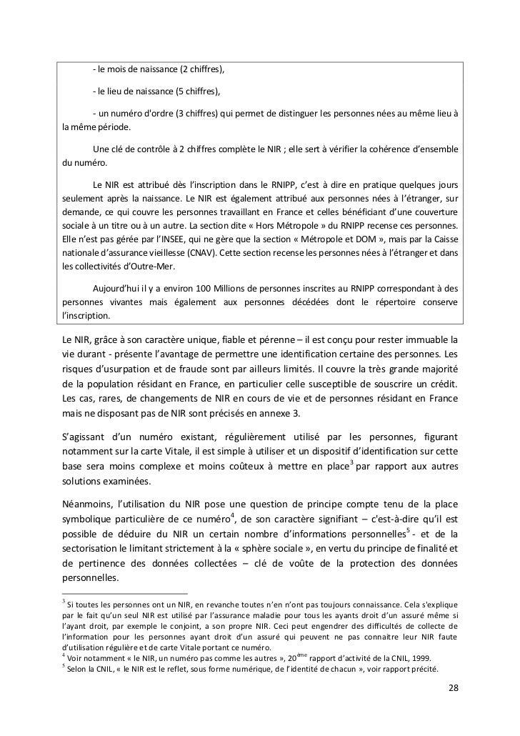 Rapport Registre National Des Credits Juillet 2011