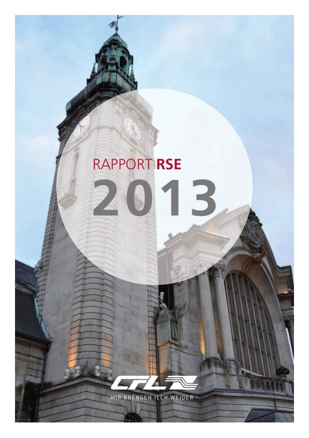 RAPPORT RSE