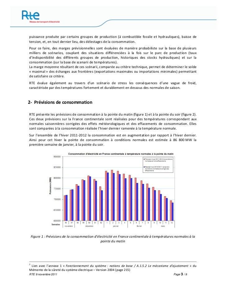 Rapport rte passage hiver novembre 2011 Slide 3