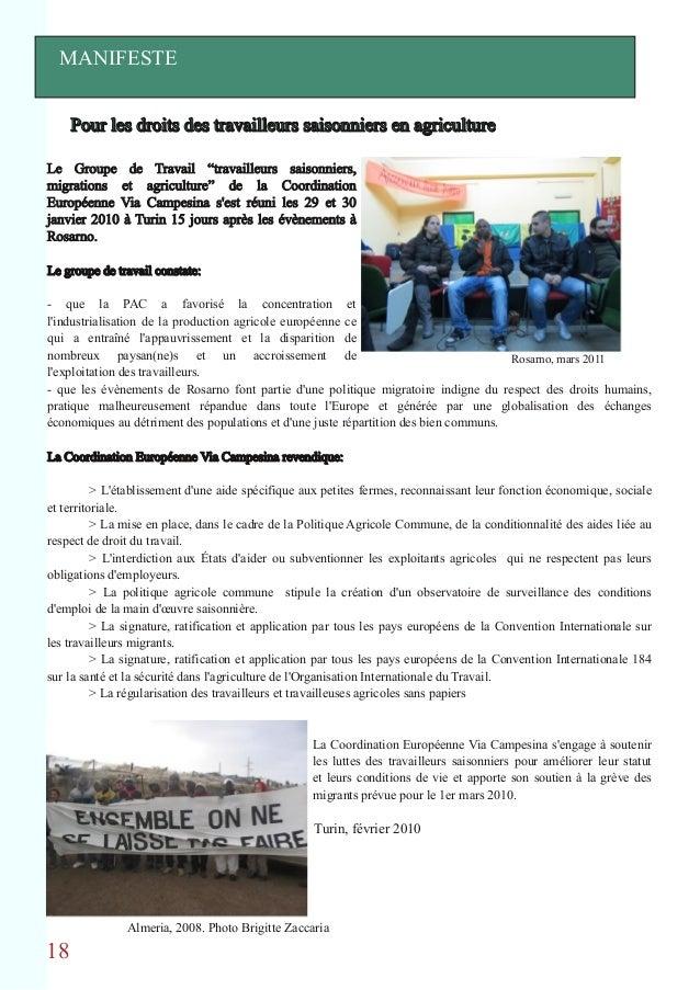 Rapport saisonniers 2011 - Office des migrations internationales ...