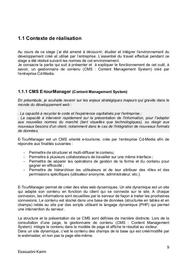 Mise En Page De Rapport Dun Stage Mise En Forme Du Document Redigez Facilement Des Documents
