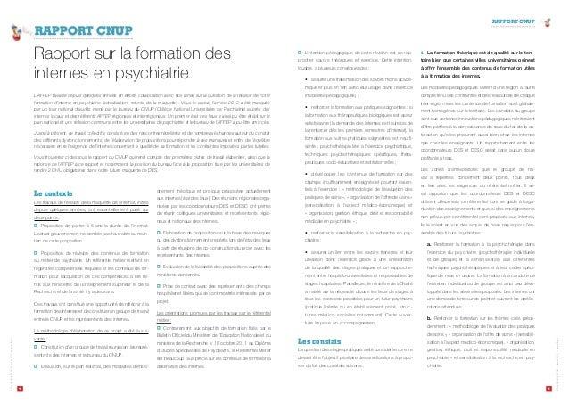 RAPPORT CNUP  2 3  Le Psy Déchaîné N° 08 ‡Janvier 2013 ‡www.affep.fr  Le Psy Déchaîné N° 08 ‡Janvier 2013 ‡www.affep.fr  R...