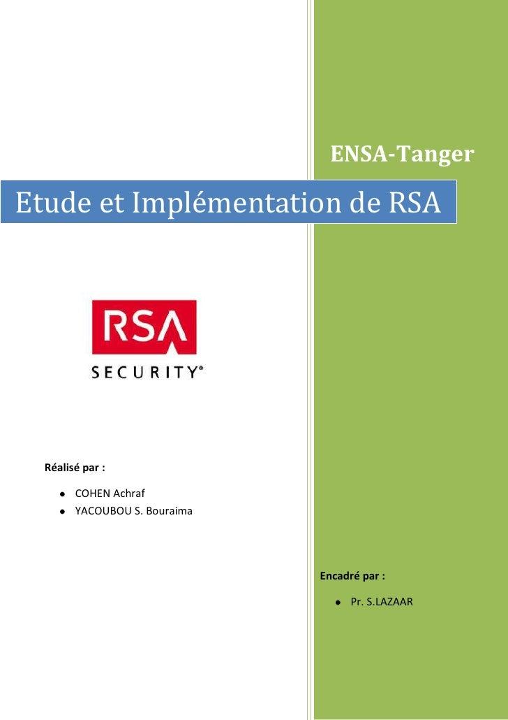 Rapport  tp  RSA