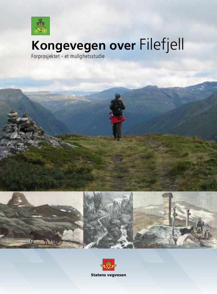 Kongevegen over FilefjellForprosjektet - et mulighetsstudie