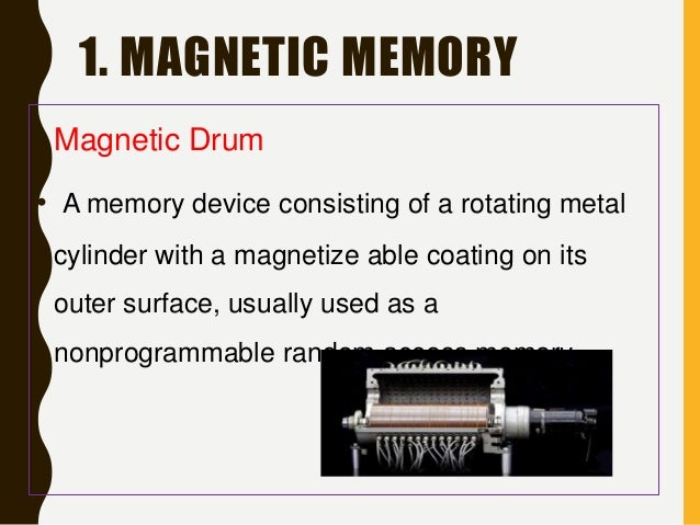 magnetic memory devices