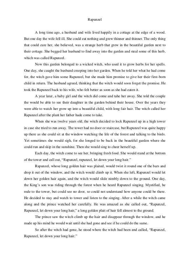 Cerita Dongeng Pakai Bahasa Inggris