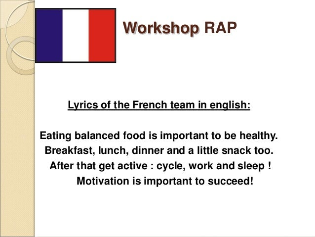 Rap workshop