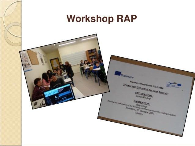 Rap workshop Slide 3