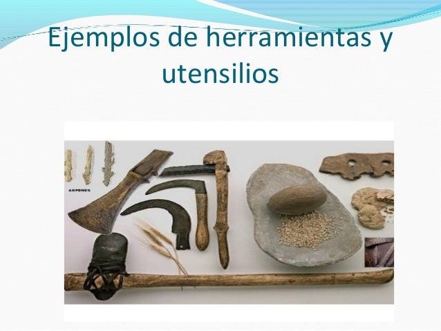 La prehistoria herramientas for Utensilios de cocina originales y baratos