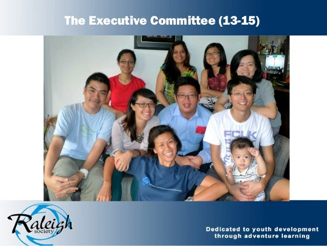 The Executive Committee (13-15)