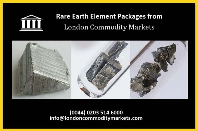 Rare earth investments - Technology package