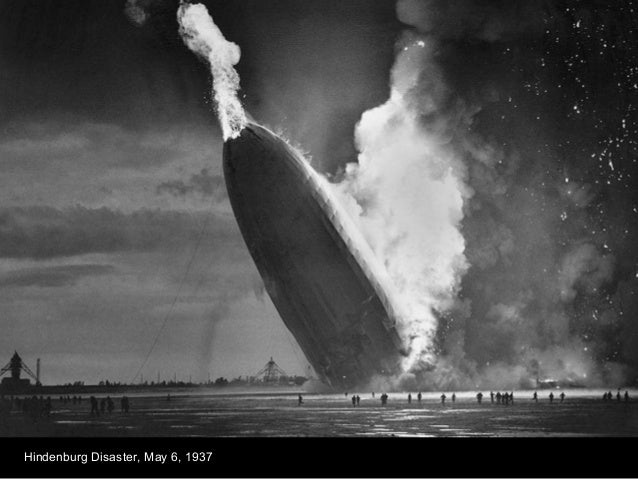 Hindenburg Disaster, May 6, 1937