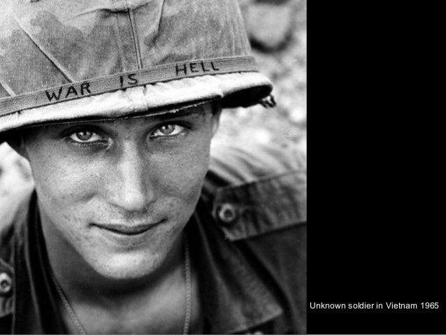 Unknown soldier in Vietnam 1965