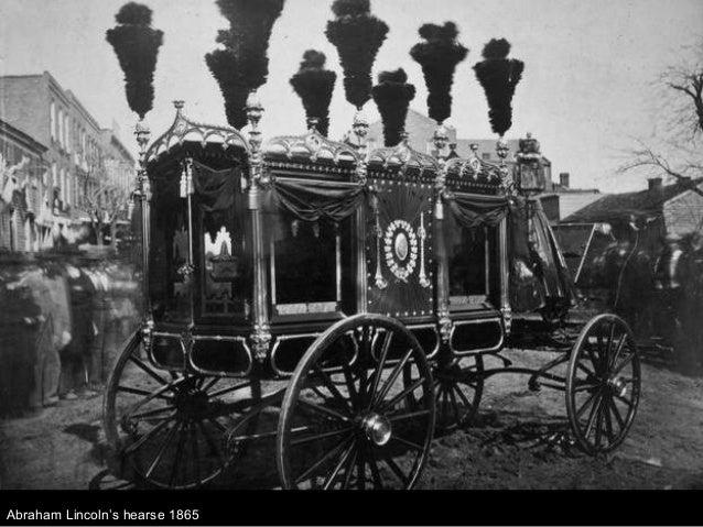 Abraham Lincoln's hearse 1865